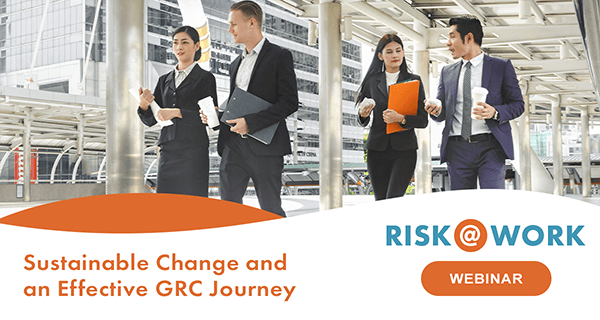 webinar Sustainable Change and an Effective GRC_IRM Journey