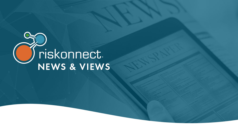 Riskonnect News and Views Header