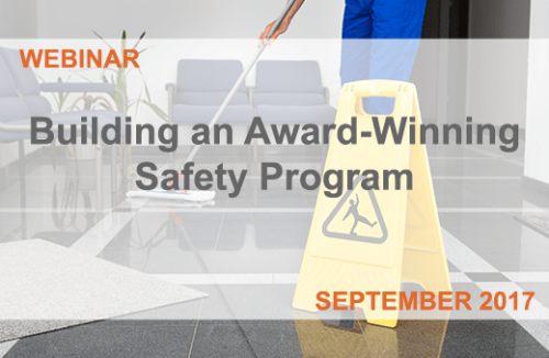 Building an Award-Winning Safety Program
